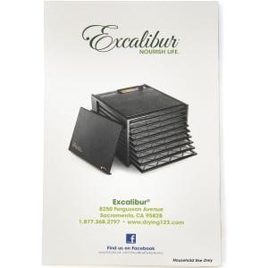 Дегидратор Excalibur Economy (4400220), 4 лотка - фото 5