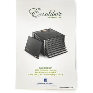 Дегидратор Excalibur Lux 5SS (D502SHD) - фото 6