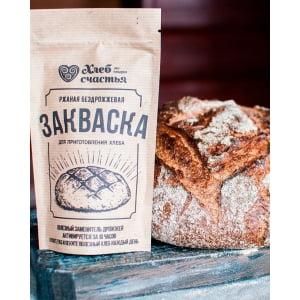"""Ржаная закваска """"Хлеб счастья"""" для хлеба и кваса, 100 г - фото 4"""