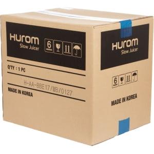 Соковыжималка Hurom Alpha H-AA-BBE17, Черная матовая - фото 17