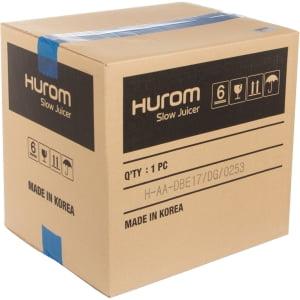 Соковыжималка Hurom Alpha H-AA-DBE17, Серебристая - фото 17