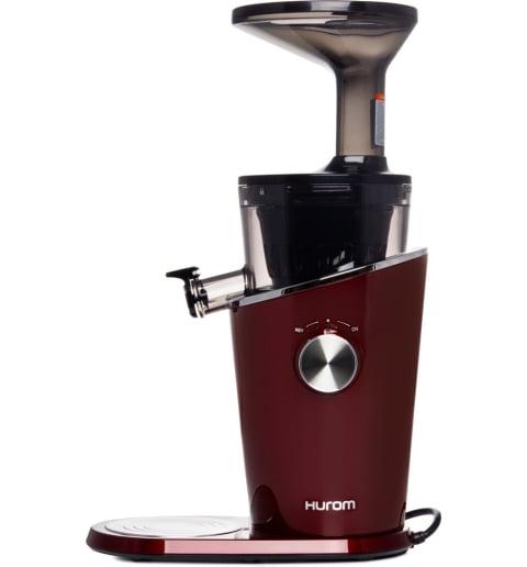 Соковыжималка Hurom H-100-EBEA01, 4 поколение, Бордовая