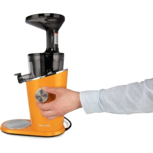 Соковыжималка Hurom H-100-OBEA01, 4 поколение, Оранжевая - фото 2