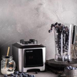 Профессиональный блендер King Mix KM-A7, Серебристый - фото 2
