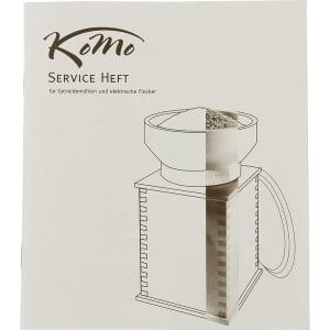 Электрическая мельница для зерна Komo Fidibus 21 - фото 4