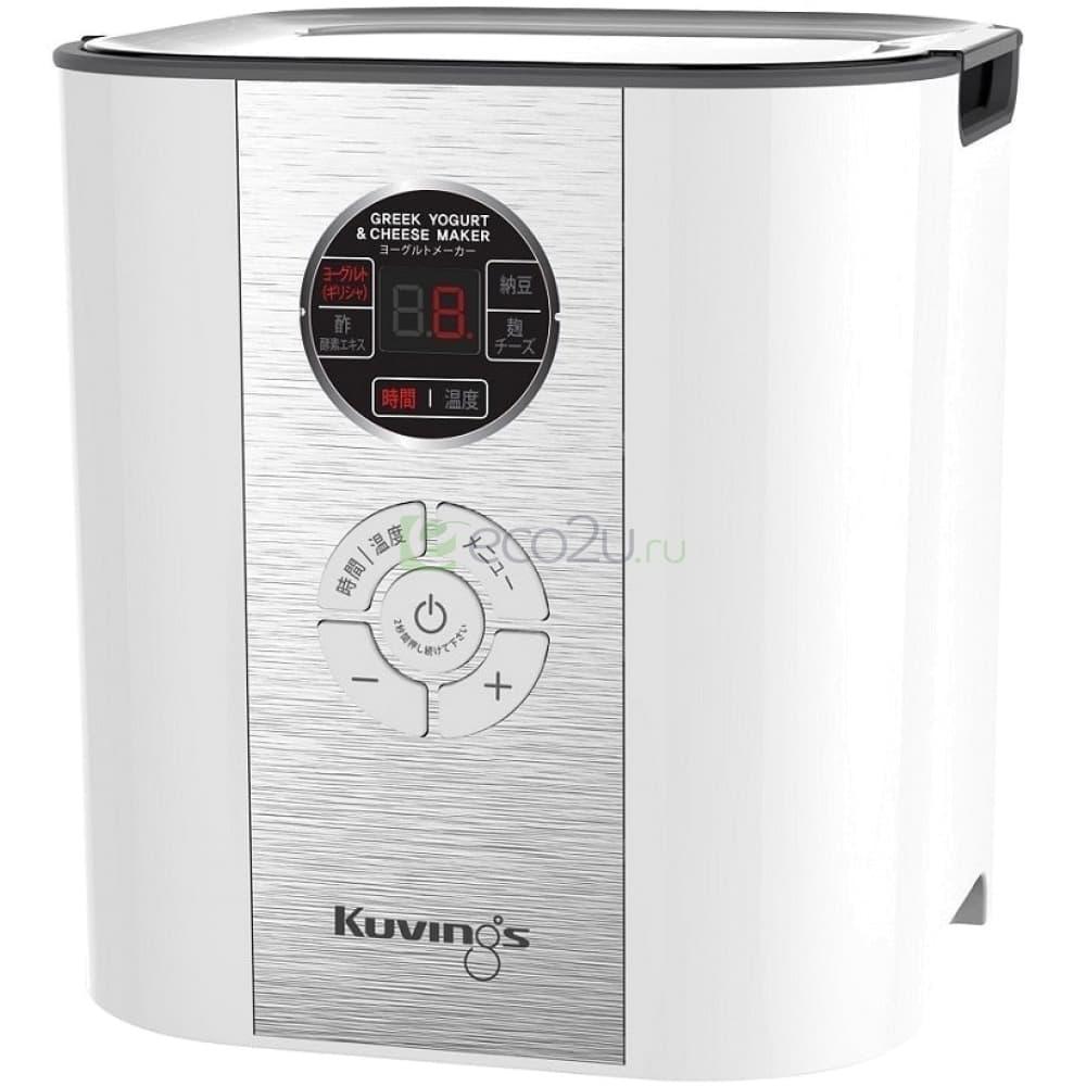 Йогуртница-ферментатор Kuvings KGC-621 с функцией сыроварки, Белая