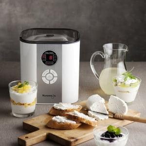 Йогуртница-ферментатор Kuvings KGC-621 с функцией сыроварки, Белая - фото 2
