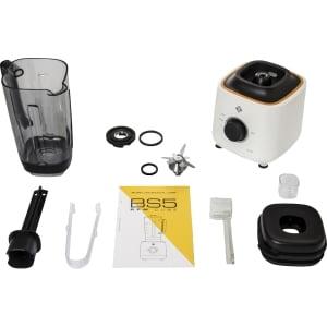 Профессиональный блендер L'equip BS5С Cube (2 чаши), Белый - фото 8
