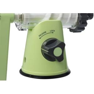 Соковыжималка ручная Lexen Healthy Juicer Manual GP27-G, Зеленая - фото 6