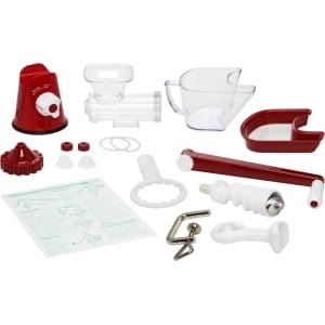 Соковыжималка ручная Lexen Healthy Juicer Manual GP27-R, Красная - фото 16