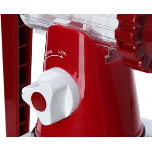 Соковыжималка ручная Lexen Healthy Juicer Manual GP27-R, Красная - фото 18