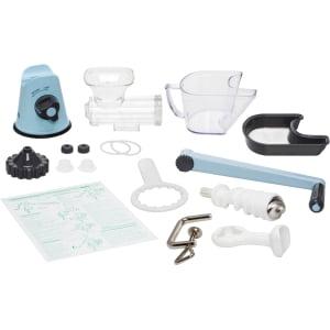 Соковыжималка ручная Lexen Healthy Juicer Manual GP27-B, Голубая - фото 11