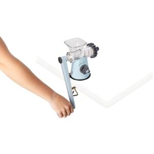 Соковыжималка ручная Lexen Healthy Juicer Manual GP27-B, Голубая - фото 10