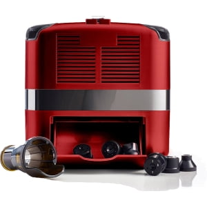 Соковыжималка горизонтальная одношнековая Omega Cube302R, Красная - фото 10