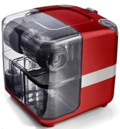Соковыжималка горизонтальная одношнековая Omega Cube302R, Красная