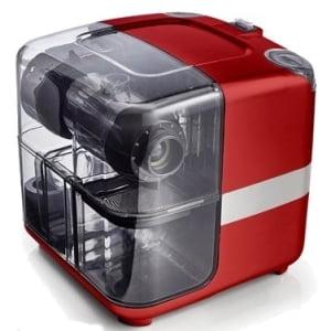 Соковыжималка горизонтальная одношнековая Omega Cube302R, Красная - фото 1