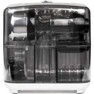 Соковыжималка горизонтальная одношнековая Omega Cube302S, Серебристая - фото 1