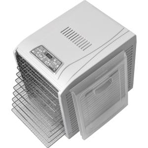 Дегидратор RAWMID Dream Vitamin DDV-10 (10 стальных лотков), Белый - фото 19