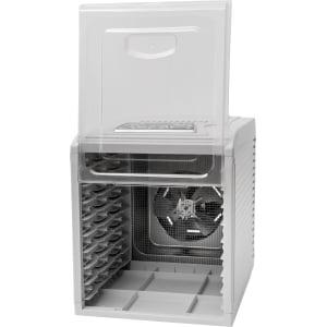 Дегидратор RAWMID Dream Vitamin DDV-10 (10 стальных лотков), Белый - фото 15