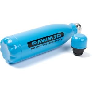 Спортивная бутылка RAWMID стальная, Синяя - фото 4