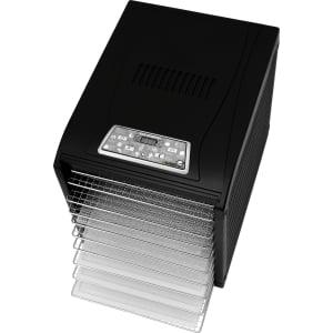 Дегидратор RAWMID Dream Vitamin DDV-10 (10 стальных лотков), Черный - фото 7