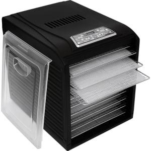 Дегидратор RAWMID Dream Vitamin DDV-10 (10 стальных лотков), Черный - фото 16