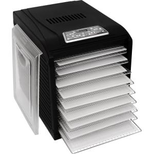 Дегидратор RAWMID Dream Vitamin DDV-10 (10 стальных лотков), Черный - фото 6