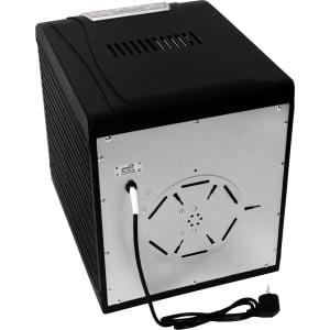 Дегидратор RAWMID Dream Vitamin DDV-10 (10 стальных лотков), Черный - фото 17