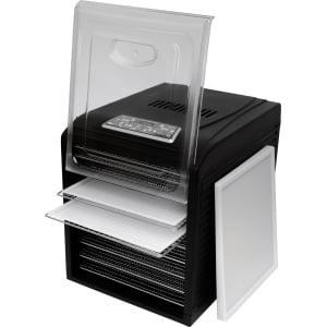 Дегидратор RAWMID Dream Vitamin DDV-10 (10 стальных лотков), Черный - фото 15