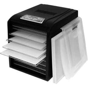 Дегидратор RAWMID Dream Vitamin DDV-10 (10 стальных лотков), Черный - фото 18