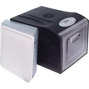 Дегидратор RAWMID Dream Vitamin DDV-06 (7 пластиковых лотков), Черный - фото 5