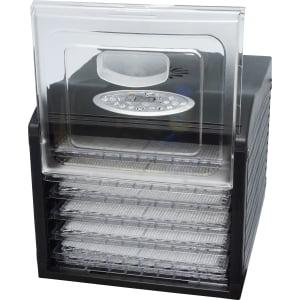 Дегидратор RAWMID Dream Vitamin DDV-06 (7 пластиковых лотков), Черный - фото 3