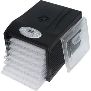 Дегидратор RAWMID Dream Vitamin DDV-06 (7 пластиковых лотков), Черный - фото 8