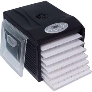 Дегидратор RAWMID Dream Vitamin DDV-06 (7 пластиковых лотков), Черный - фото 7