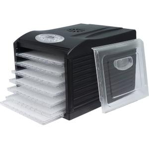 Дегидратор RAWMID Dream Vitamin DDV-06 (7 пластиковых лотков), Черный - фото 9