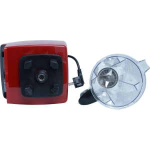 ПРО блендер RAWMID Dream Vitamin BDV-01, Красный - фото 3