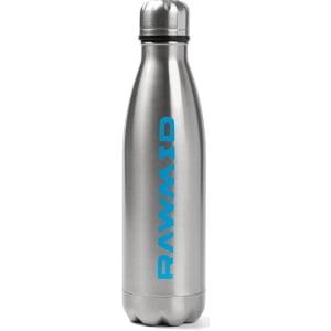 Спортивная бутылка RAWMID стальная, Серебристая