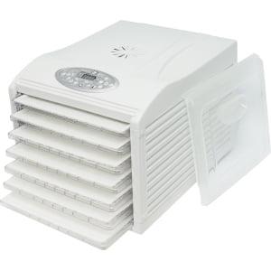 Дегидратор RAWMID Dream Vitamin DDV-06 (7 пластиковых лотков), Белый - фото 13