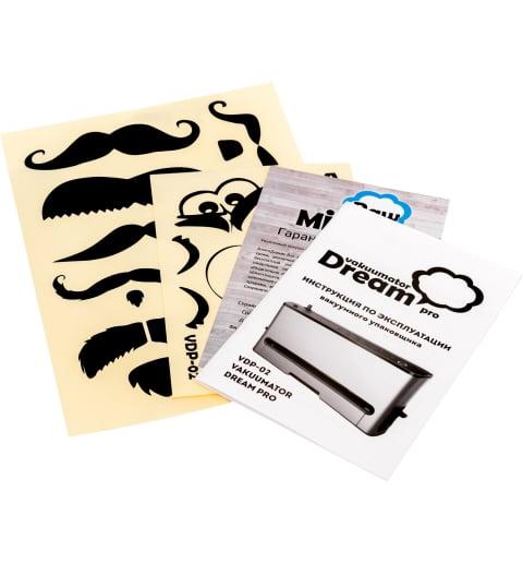 Наклейки для вакууматора RAWMID Dream PRO VDP-02