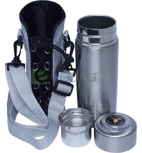 Ионизирующая фляжка RAWMID Dream Flask IDF-01 (в спорт сумке), Серебристая