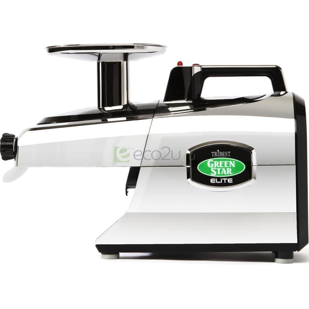 Соковыжималка Tribest Green Star Elite GSE-5050, Хром (без набора для приготовления лапши)