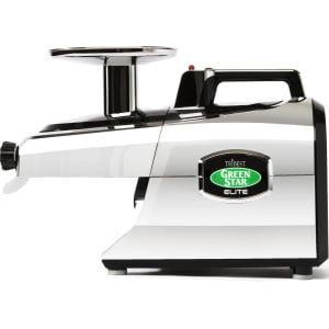 Соковыжималка Tribest Green Star Elite GSE-5350, Хром (с набором для приготовления лапши) - фото 1