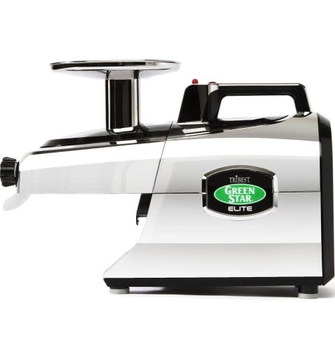 Соковыжималка Tribest Green Star Elite GSE-5350, Хром (с набором для приготовления лапши)