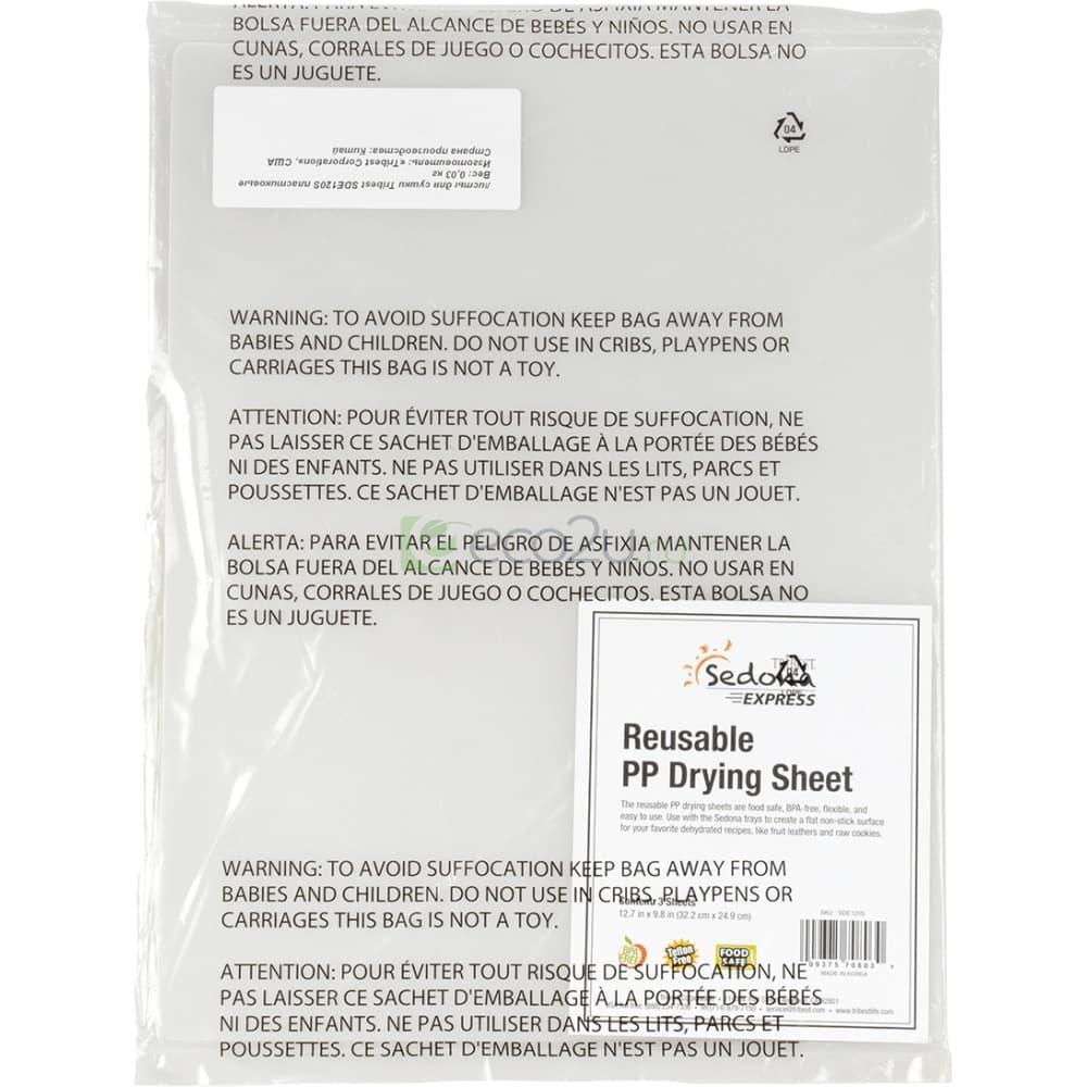 Набор листов для сушки Tribest Sedona Express полипропилен (3 шт)