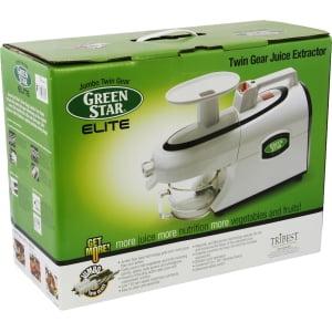 Соковыжималка Tribest Green Star Elite GSE-5300 (с набором для приготовления лапши) - фото 16