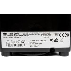Профессиональный блендер Vitamix Vita Prep 3, Черный - фото 3